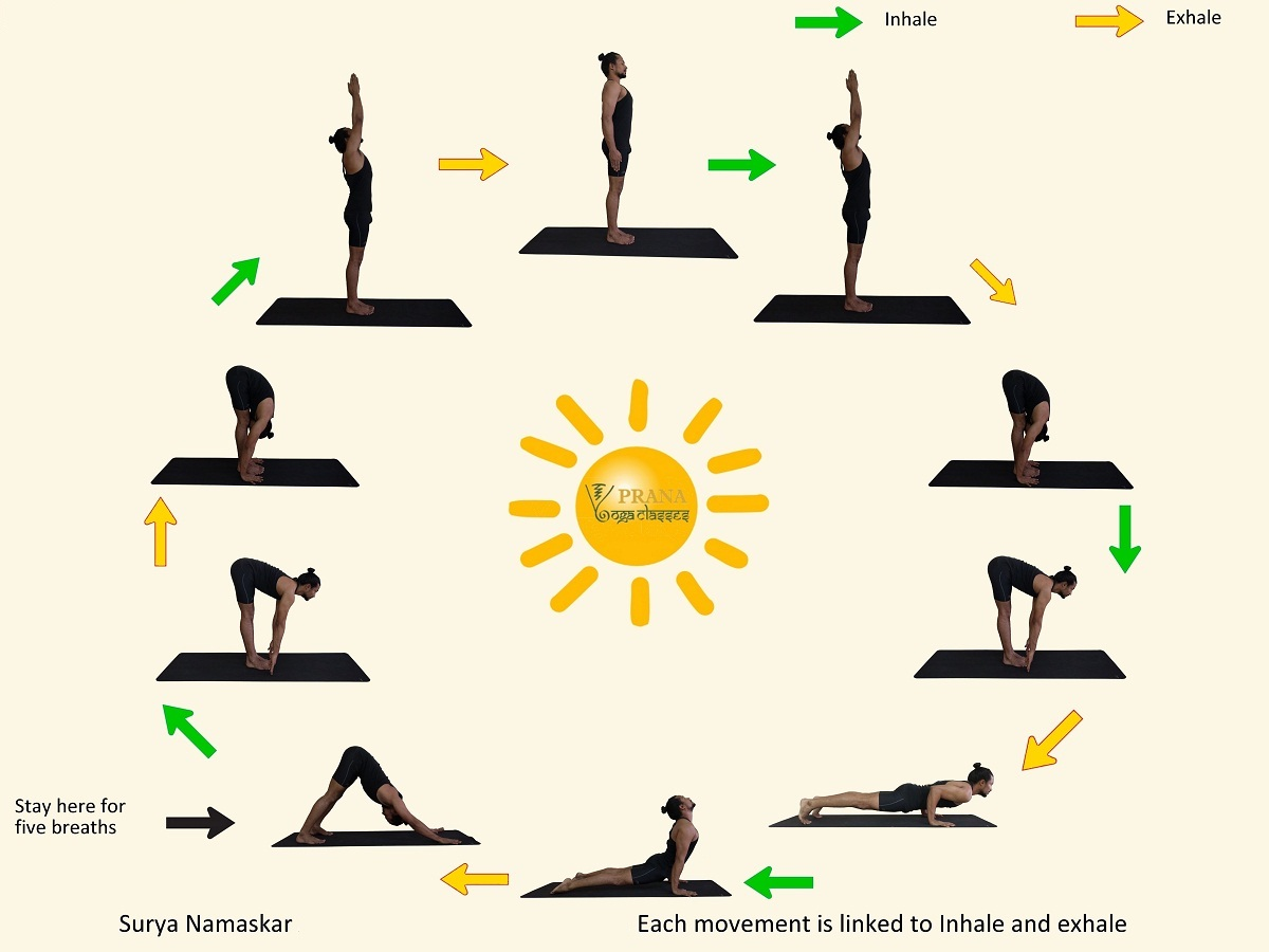 Sun Salutation Stretch